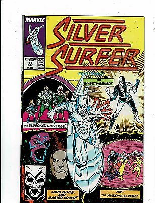 Lot of 5 The Silver Surfer Marvel Comic Books #17 18 19 20 21 WT18