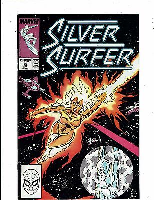 Lot of 5 The Silver Surfer Marvel Comic Books #12 13 14 15 16 WT18
