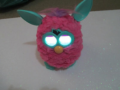 HASBRO FURBY - 'PINK PUFF' 2012 Electronic/Interactive Pet - Moves, Talks, +