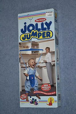 Jolly jumper- includes all parts, instuctions and jolly jumping foot rattles