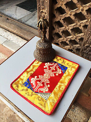 Tibetan Buddhist Red dorji Placemat /shrine cloth /Table Cover/ Altar /place Mat