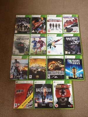 Xbox 360 Games and Headset + a free controller Shell