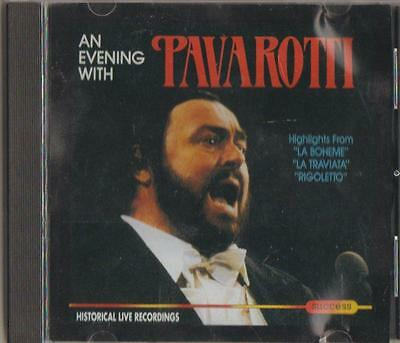 C.d.music  D367   Luciano Pavarotti: An Evening With Pavarotti  Cd