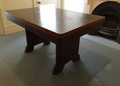 Art Deco Extendable Dining Table & 6 Chairs