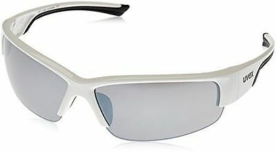 Uvex Sportstyle 215 Sunglasses White Black Cycling Bike Outdoor Mountain Glasses