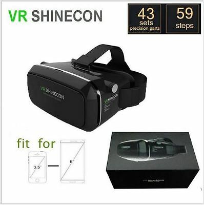 VR Shinecon 3D Glasses + R1 Bluetooth Gamepad (BT4.0) + Fast Delivery-UK Seller