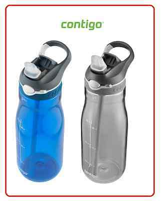 ❤ Contigo Ashland Autoseal 32oz 946ml Large Sport Water Bottle Travel Mug BPA ❤