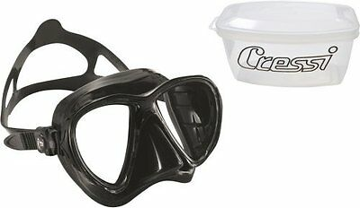 Maschera Cressi Sub Eyes Evolution Dark Pesca Apnea Diving