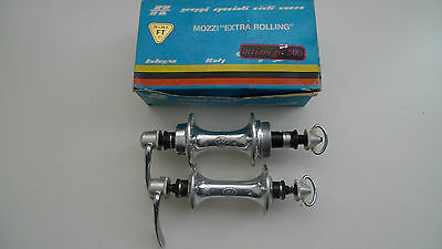 Vintage NOS 80's FT BOLOGNA Extra Rolling HUBS Campagnolo compatible SUPER RARE