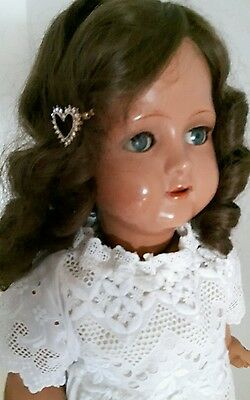 beautiful vintage composition walking doll