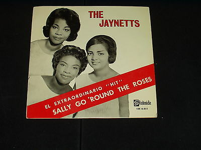 Jaynetts  Ep Sally Go Round The Roses  Very Rare Edition Spanish Soul
