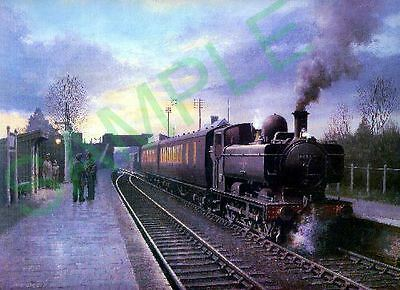 GWR Pannier Tank waiting at Witney