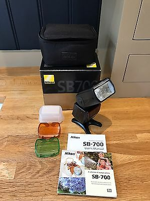 Nikon SB700 Speedlight SLR Camera External Flash Boxed