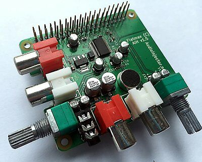 Sound Card for the Raspberry Pi