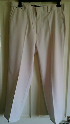 White Ping Golf Trousers, mens size 34w 30l