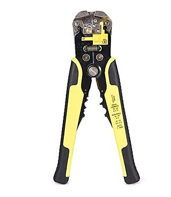 Jackyled Wire Stripper w/ Touch Grips Cable Cutters Crimper Striping Tool New