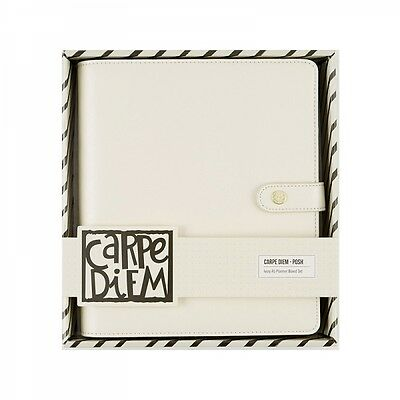 Simple Stories - Sn@p! Carpe Diem Ivory Posh A5 Planner Boxed Set