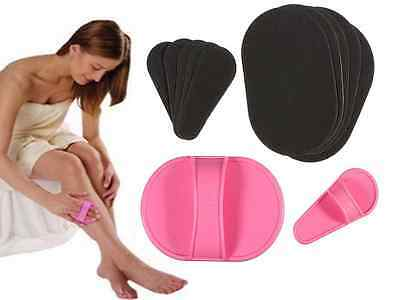 Smooth Leg Skin Pads Arm Face Upper Lip Hair Removal Remover Exfoliator Epilator