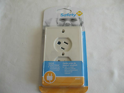 Safety First Swivel Outlet cover Up White
