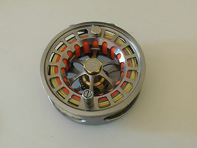 Hardy Ultralite 9000 DD Large Fly Reel with Rio Scandi Body Fly Line Weight 8