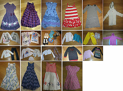 Bundle Girls clothes 30+ items 8-9 years dresses tops jeans Next Gap John Lewis