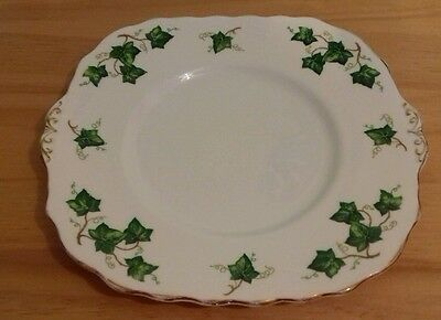 Colclough China Ivy Leaf Cake Plate