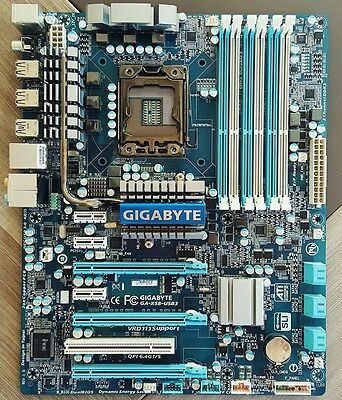 Motherboard GIGABYTE X58-USB3 ATX LGA 1366 Ultra Durable rev.1.0 Intel X58