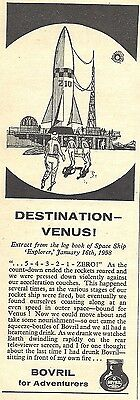 Bovril Advert - Destination Venus - Original 1960