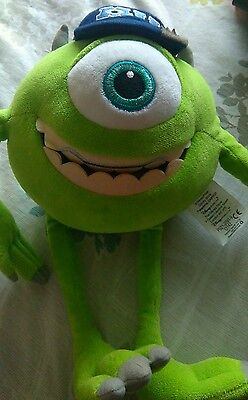 Monsters university MIKE soft toy!