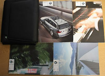 Bmw 3 Series E91 Touring Handbook Owners 2005-2008 Pack 13418