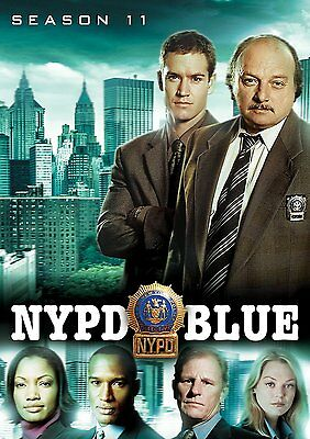 NYPD Blue ~ Complete 11th Eleventh Season 11 Eleven ~ BRAND NEW 5-DISC DVD SET