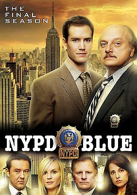 NYPD Blue ~ Complete 12th  & FINAL Season 12 Twelve ~ BRAND NEW 5-DISC DVD SET