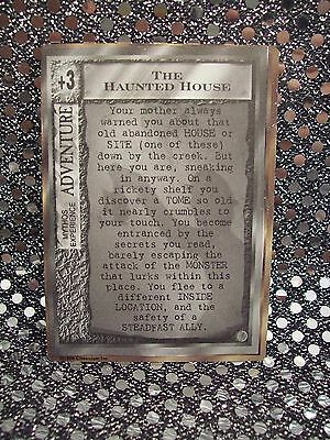"Mythos Ccg ~ ""the Haunted House"" Modified Promo Card ~ Chaosium#1300 (1996) New!"
