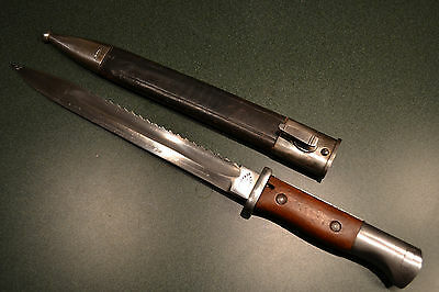 Rare Wwi German F.koeller Saw Back M884/98 Mauser Dagger Byonet Imperial Germany
