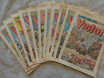 Vintage Comics (11) - VICTOR  (ALL 1983) - VG Cond'n (REDUCED)