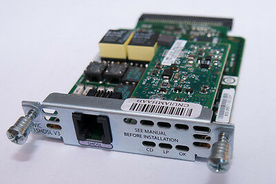 Cisco WIC-1SHDSL-V3 WAN Interface Card for Cisco CCNA CCNP CCIE