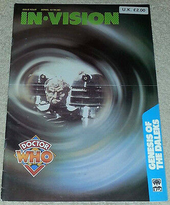 In Vision Magazine Issue Four (4) Doctor Who Genesis of the Daleks