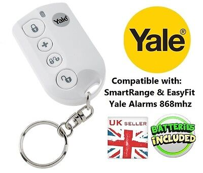Yale Wireless Remote Key Fob Smart Range (Sr) & Easy Fit (Ef) Alarms Only - New