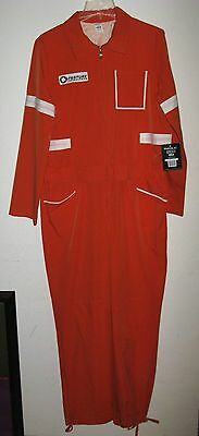 NECA Portial 2 Orange Halloween Theater Jumpsuit Costumes Large Adult 14 & up
