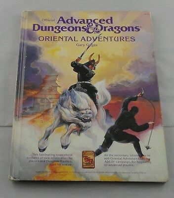 TSR2018 Advanced Dungeons and Dragons Oriental Adventures Hardback AD&D
