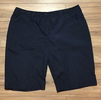 Tilley Womens Shorts Navy Size 18