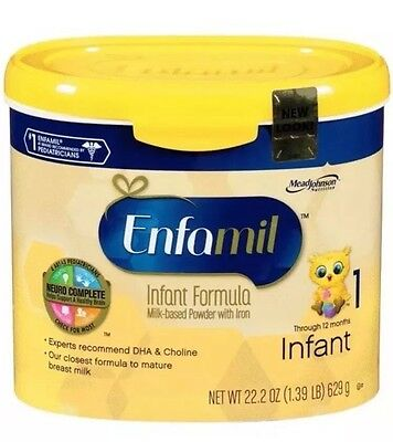 Enfamil Premium Infant Formula Powder - 22.2oz (4 Pack)