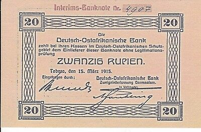 Reproduktions--Replicas--Germany East Africa--1915--Unc