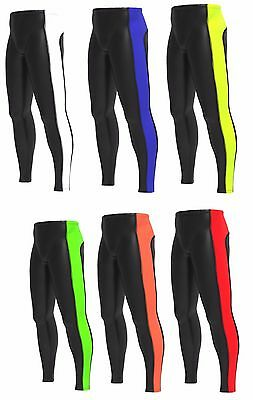 Men's Compression tights Base layer long pants running yoga Gym fit pant