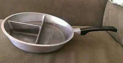 Vintage Divido Aluminum Fry Pan, 3 Sections