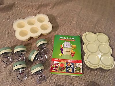 Magic Baby Bullet Baby Baby Food storage containers