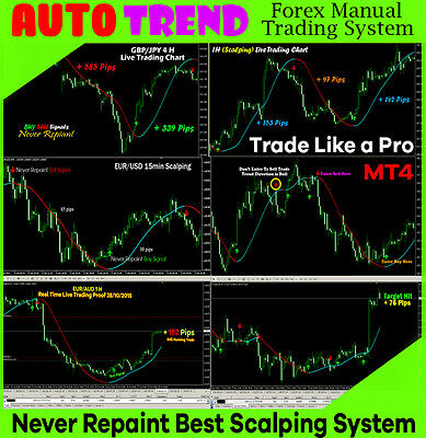 Forex Trading System Best mt4 Forex Indicator trend Strategy AUTO TREND