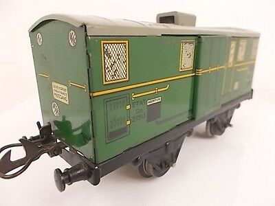 French Hornby O Gauge Baggage Wagon No.1-S