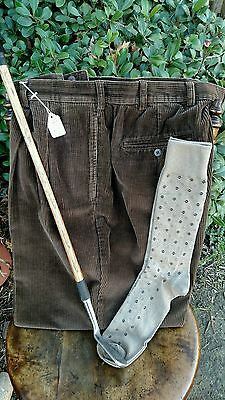 Hickory golf  -  knickers 42  Plus Fours!  JOS. A. BANK!  Corduroy!  NEW socks!