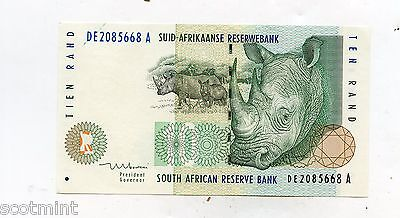 South Africa 10 Rand  Banknote 1999